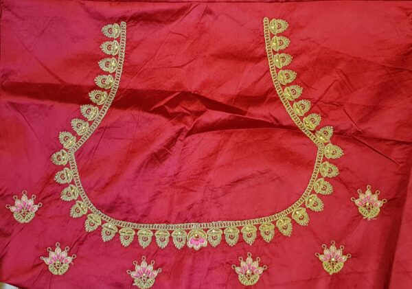 Embroidered lehenga blouse