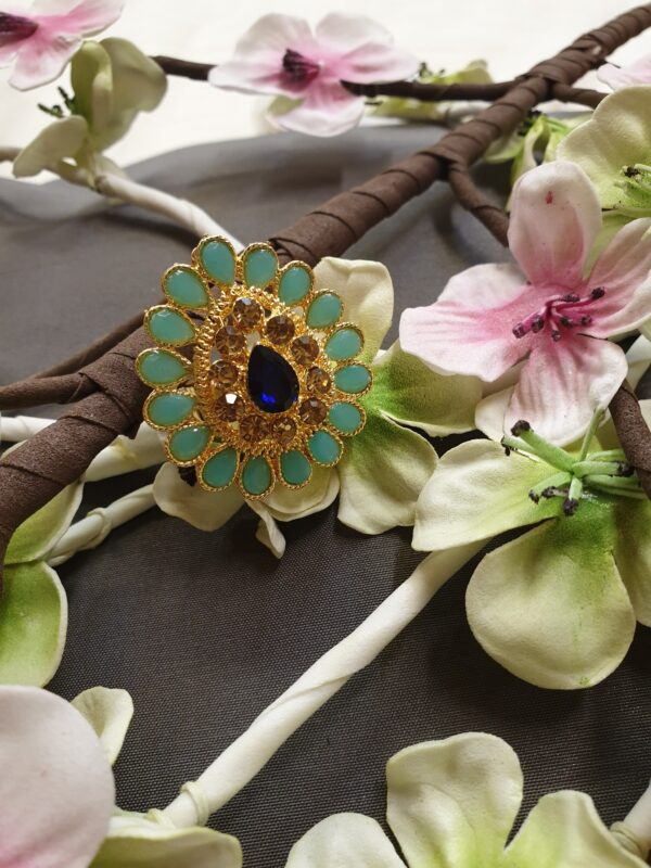 Beautiful ring with stone work