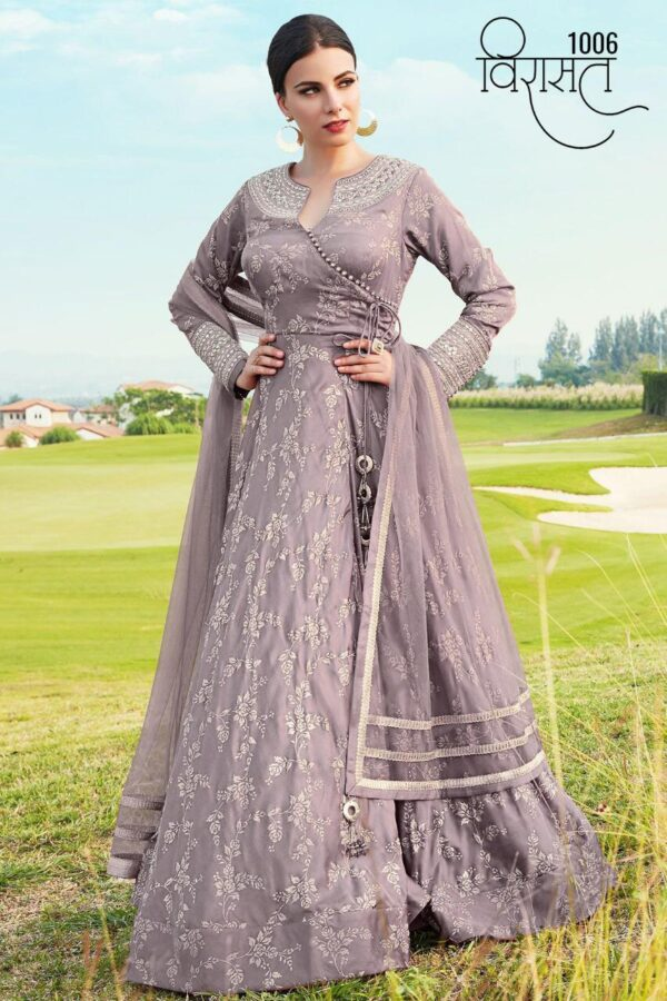 Wedding and partywear gown