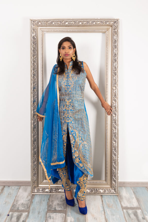 Royal salwar